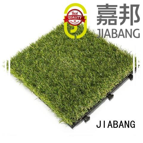 JIABANG high-quality synthetic grass tiles at discount balcony construction