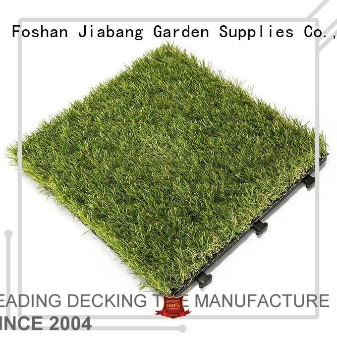 outdoor landscape grass garden interlocking grass mats JIABANG Brand