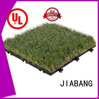 JIABANG permeable artificial grass squares top-selling for wholesale