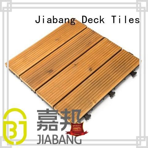 JIABANG refinishing hardwood deck tiles flooringwood for balcony