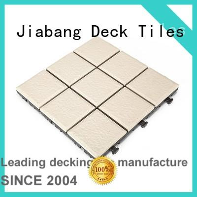 JIABANG flooring porcelain deck tiles cheap price at discount
