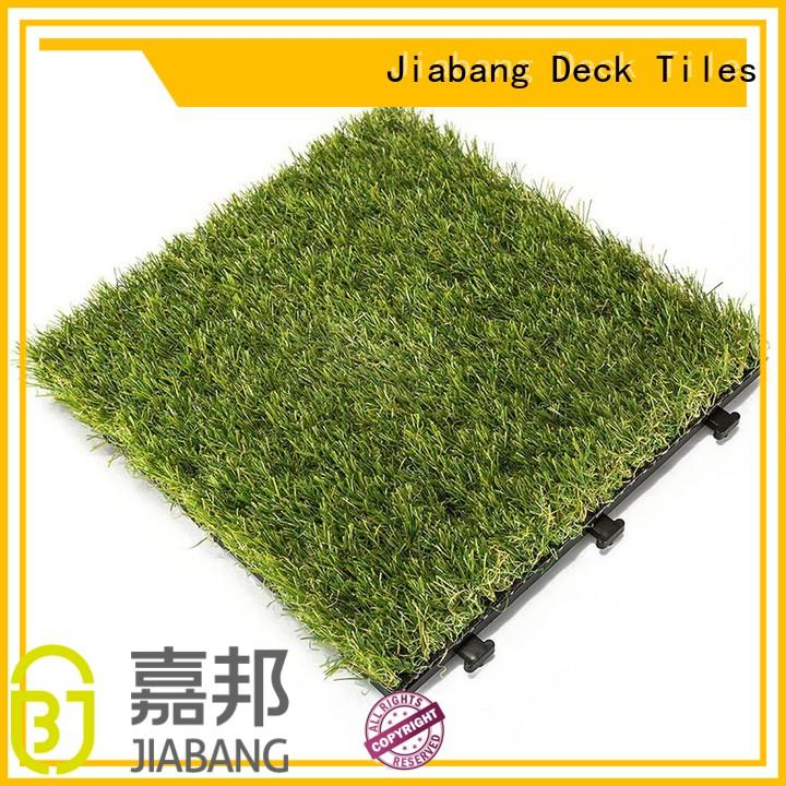 JIABANG hot-sale fake grass tiles garden decoration