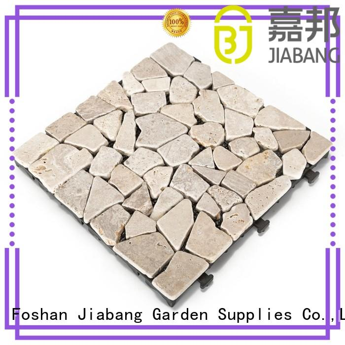 garden outdoor color travertine pavers for sale JIABANG manufacture