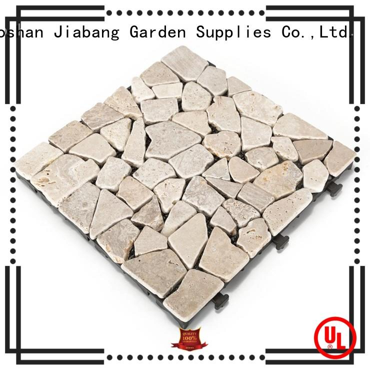 interlocking outdoor travertine tile natural wholesale for playground