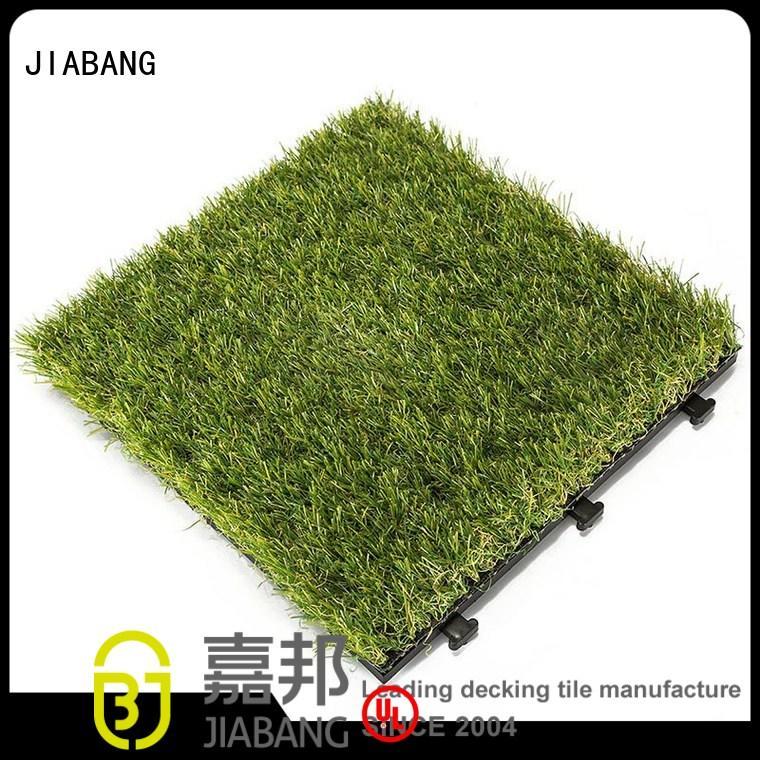 deck patio diy JIABANG Brand grass floor tiles supplier