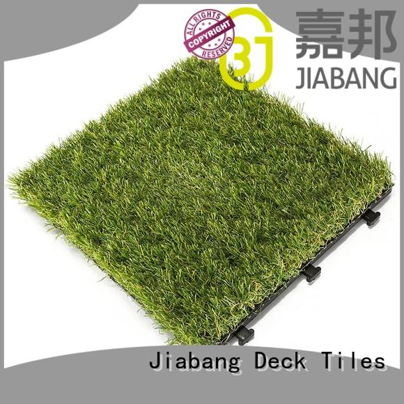 JIABANG hot-sale fake grass tiles garden decoration