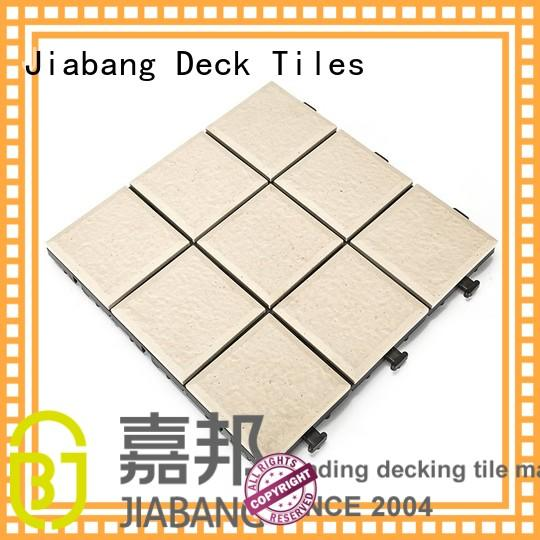 JIABANG hot-sale ceramic interlocking tiles best manufacturer for office