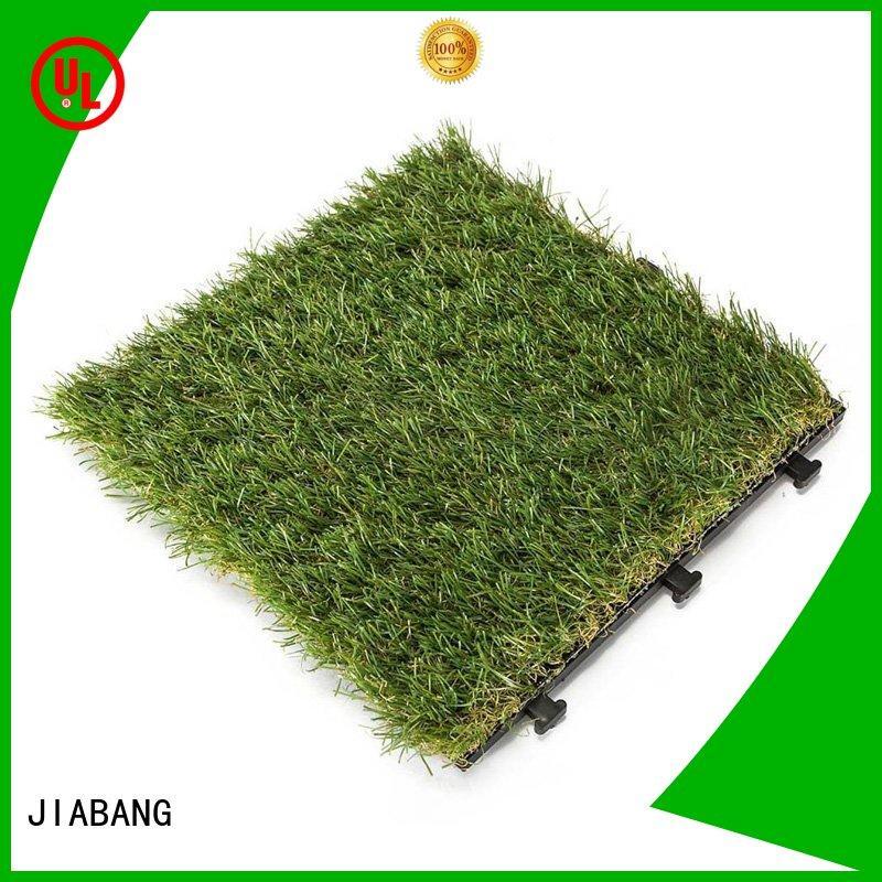 JIABANG artificial turf fake grass squares top-selling for garden