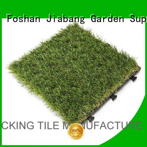 grass permeable turf fake grass squares JIABANG