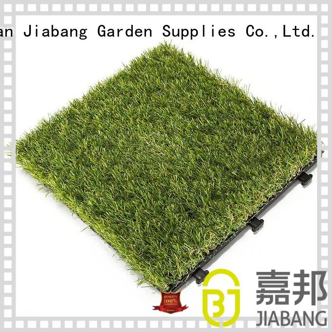 JIABANG wholesale artificial grass decking tiles at discount path building