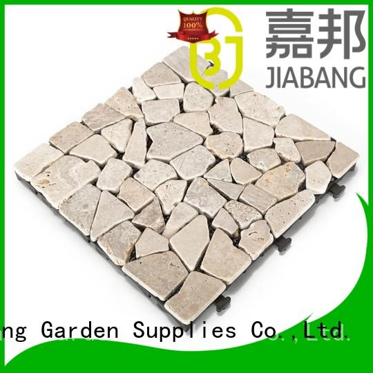 JIABANG outdoor outdoor travertine tile wholesale for playground