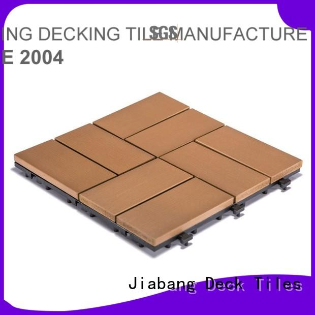 tile decking pvc deck tiles JIABANG Brand