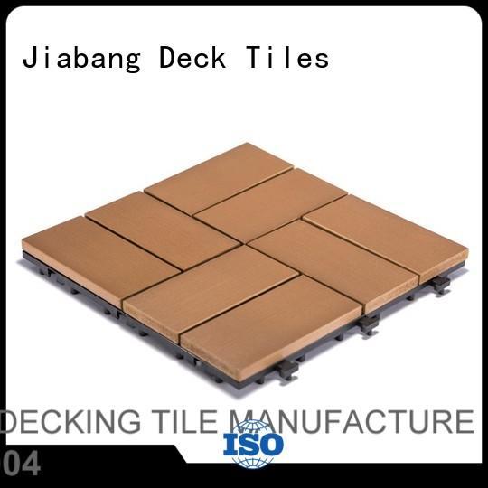 light-weight plastic decking tiles high-quality garden path JIABANG