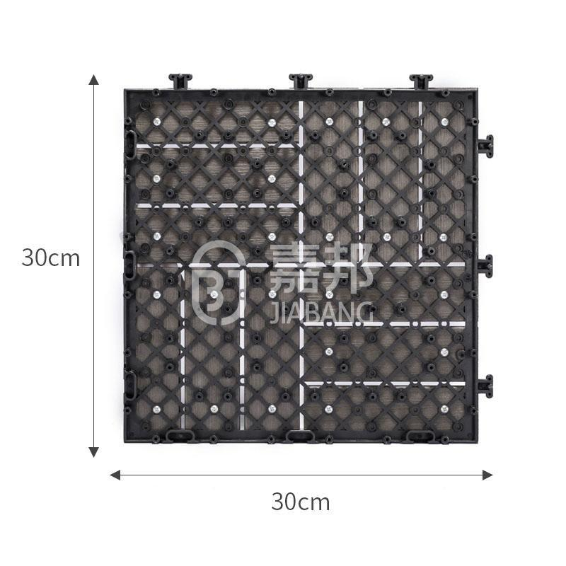 JIABANG high-end plastic interlocking deck tiles hot-sale gazebo decoration-4