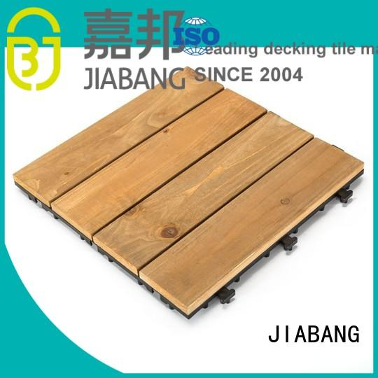 adjustable interlocking wood deck tiles flooringwood for balcony