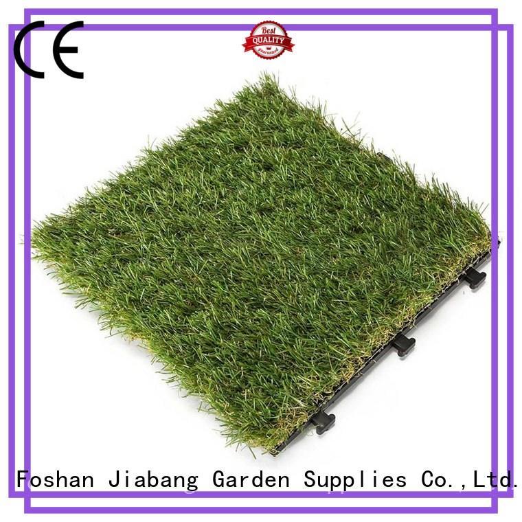 JIABANG chic design grass carpet squares hot-sale for garden