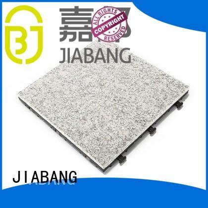 interlocking stone JIABANG Brand granite deck tiles