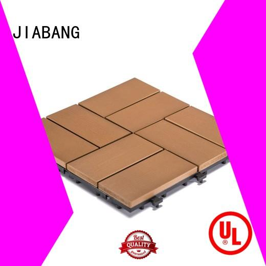 JIABANG durable outdoor plastic tiles popular home decoration
