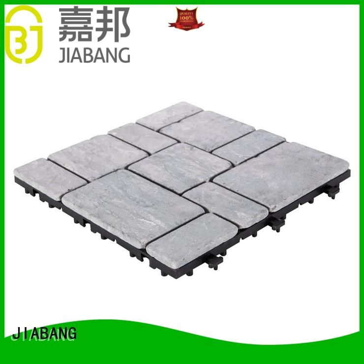 JIABANG interlocking polished travertine tile at discount from travertine stone