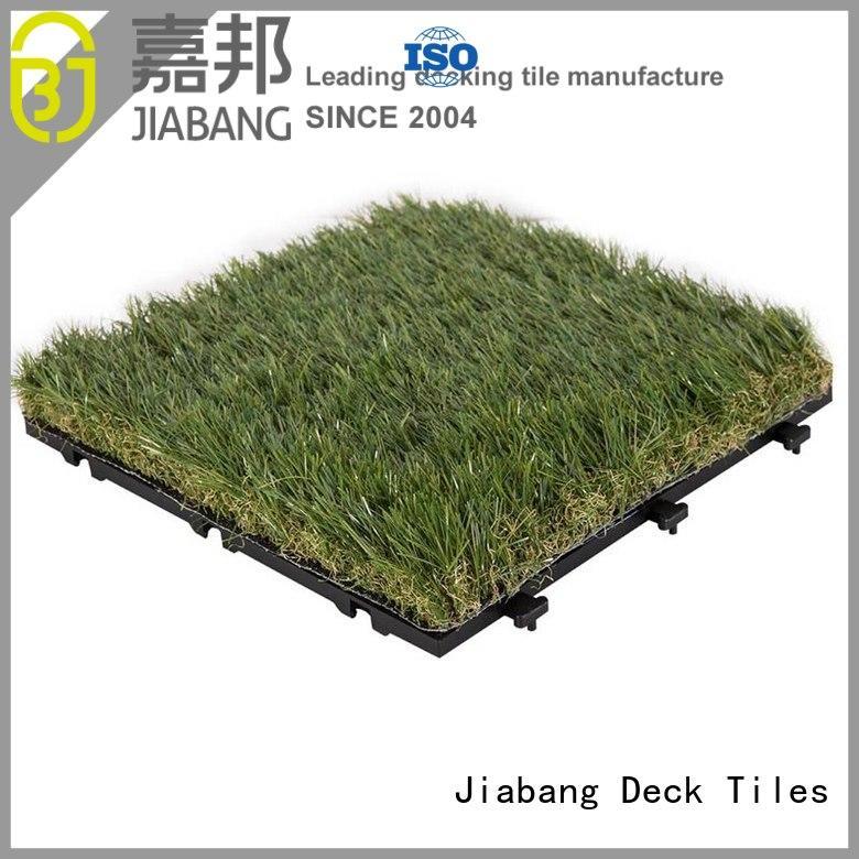 Quality JIABANG Brand turf permeable fake grass squares