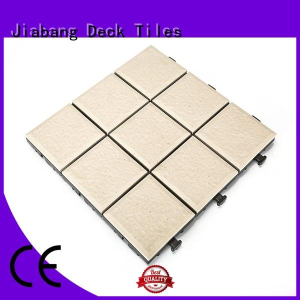 JIABANG exterior outdoor ceramic tile for patio at discount for office
