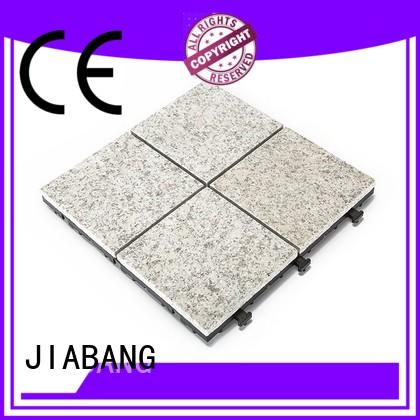JIABANG low-cost gray granite tile factory price for porch construction