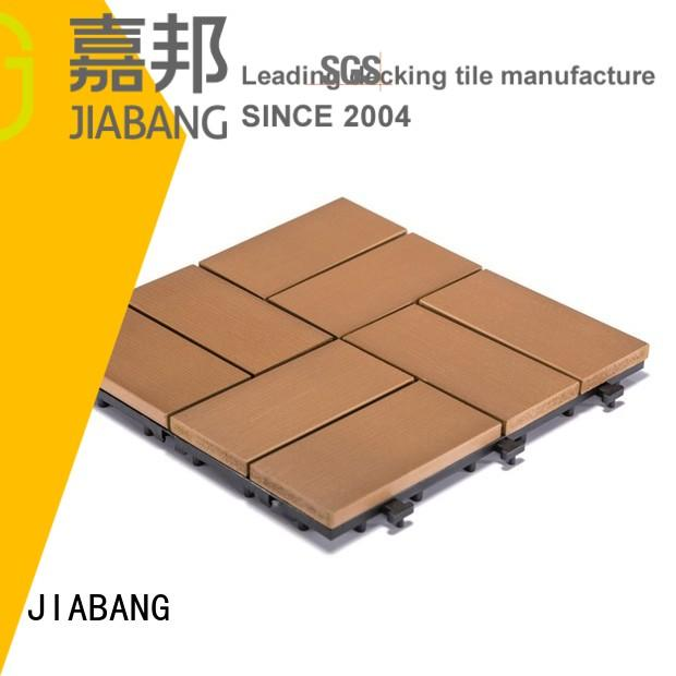 JIABANG Brand tile pvc deck tiles gazebo supplier