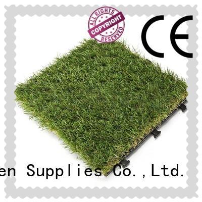 artificial grass tiles flooring hot-sale for wholesale