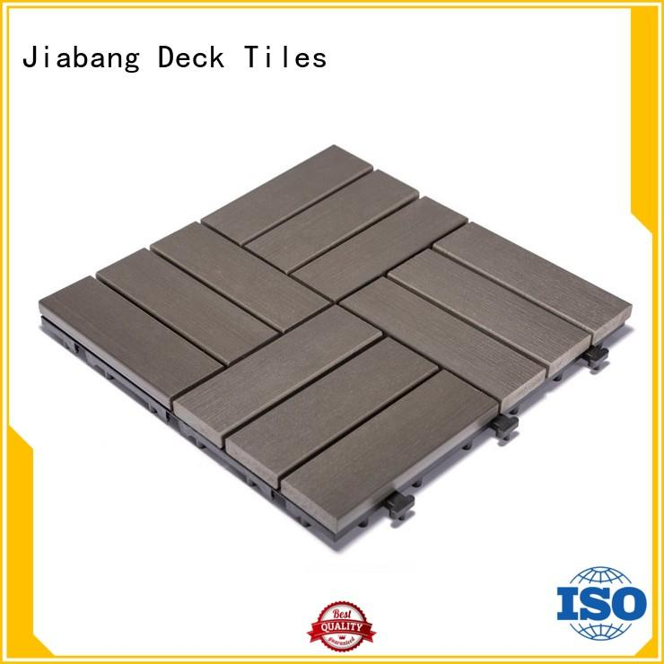 light-weight plastic garden tiles anti-siding home decoration JIABANG
