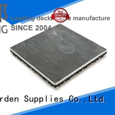non-slip dark grey slate tile non-slip floors building JIABANG