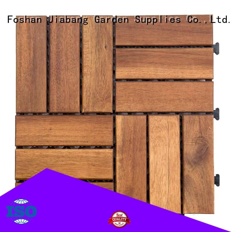 JIABANG solid wood acacia wood tile free delivery for decoration