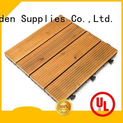 interlocking interlocking wood deck tiles natural wooddeck for garden