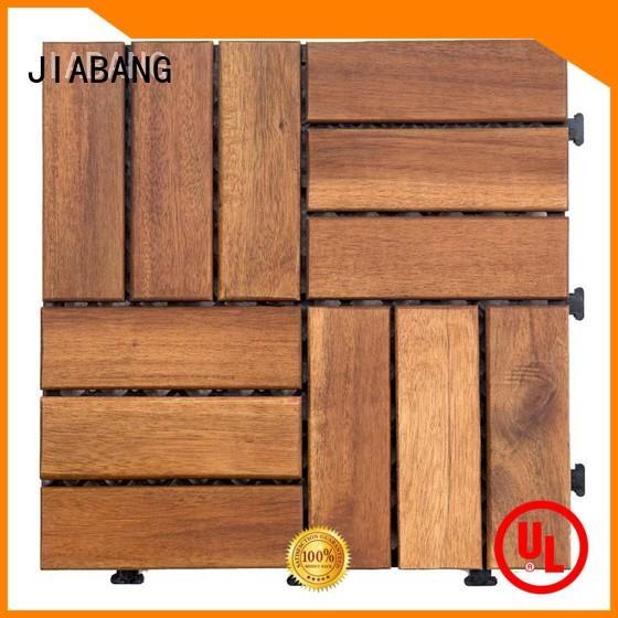 JIABANG acacia wood tile cheapest factory price at discount