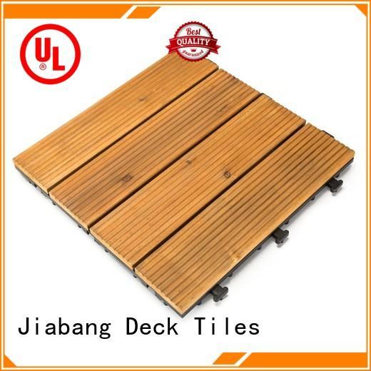 JIABANG refinishing wood deck panels flooring for garden