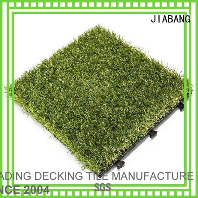 diy grass floor tiles deck JIABANG company