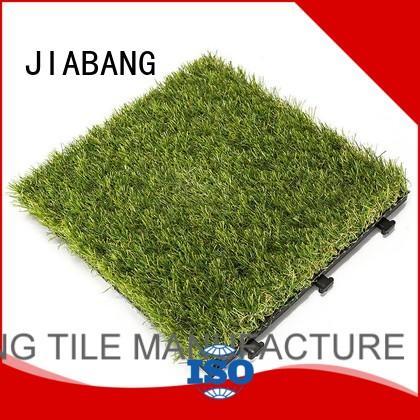 green grass carpet tiles hot-sale garden decoration JIABANG