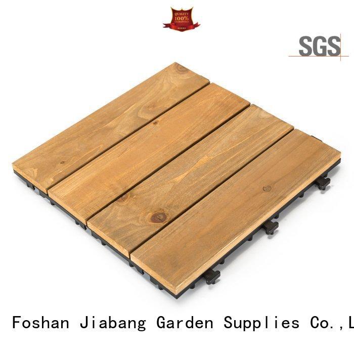 JIABANG diy wood hardwood deck tiles flooring wooden floor