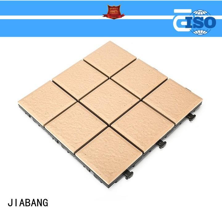 JIABANG OEM porcelain deck tiles free delivery at discount