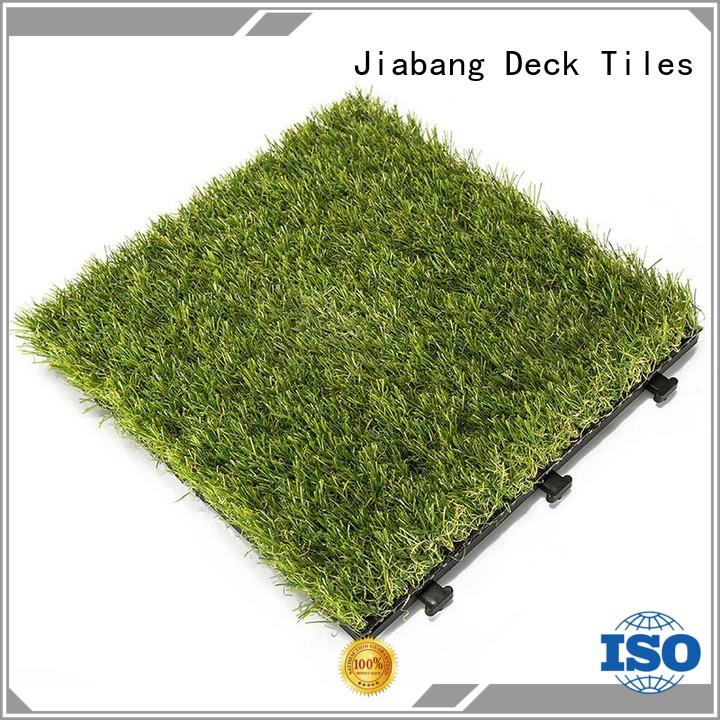 high-quality fake grass tiles hot-sale on-sale path building