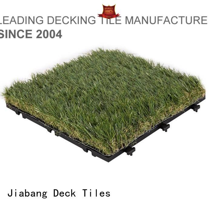 artificial grass tiles hot-sale for wholesale JIABANG