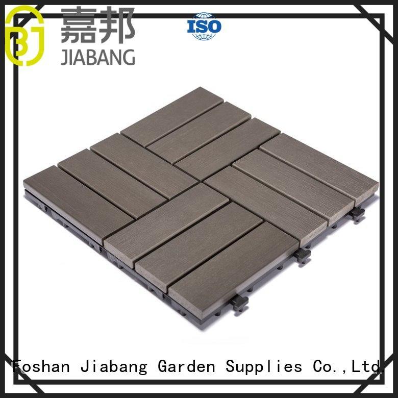 high-end plastic patio tiles anti-siding garden path