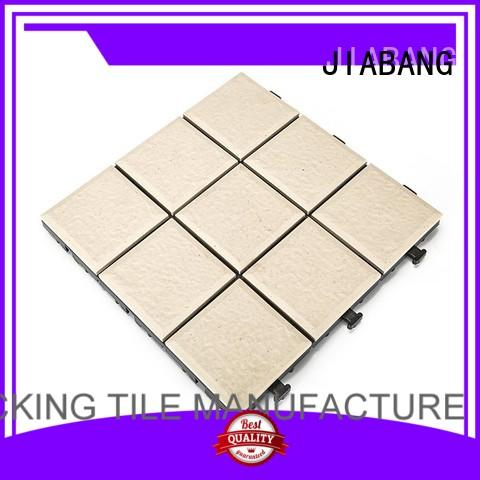 JIABANG Brand interlocking porcelain outdoor ceramic tile deck factory