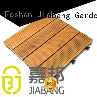 Quality JIABANG Brand tiles interlocking wood deck tiles