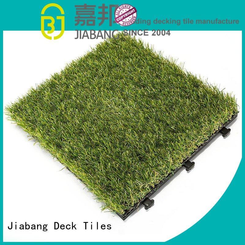 landscape synthetic grass tiles wholesale path building JIABANG
