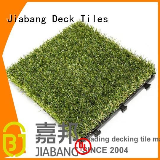 fake grass tiles hot-sale garden decoration JIABANG