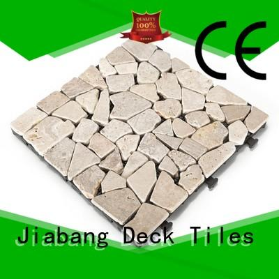 JIABANG natural travertine patio pavers at discount for playground