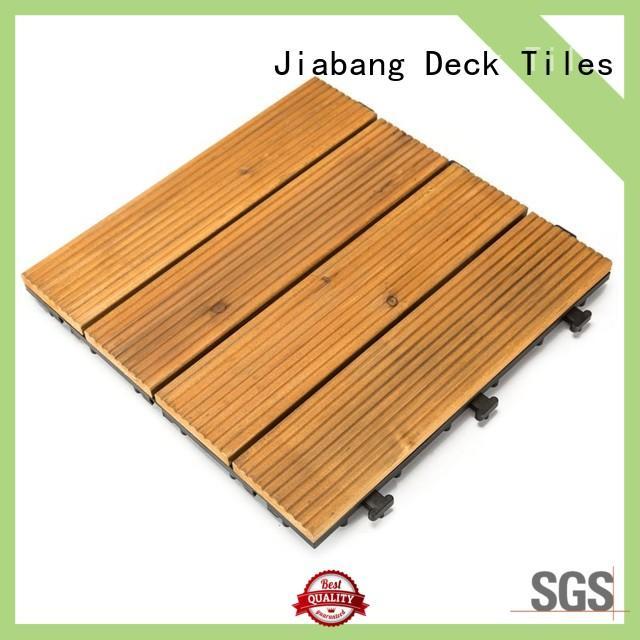 JIABANG refinishing hardwood deck tiles wooddeck wooden floor