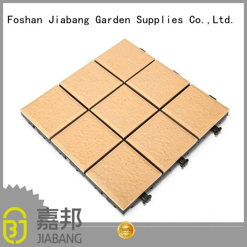 ceramic interlocking tiles exterior deck JIABANG Brand