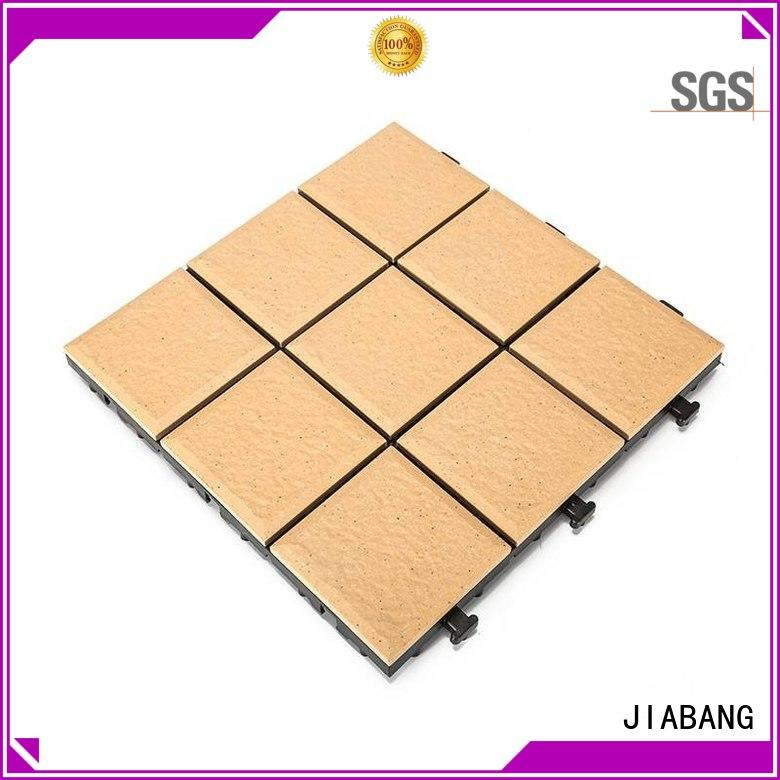 JIABANG stow interlocking tile supplier at discount for garden