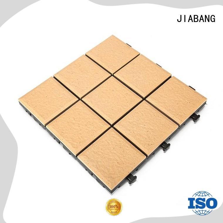 interlocking porcelain garden tiles exterior for garden JIABANG